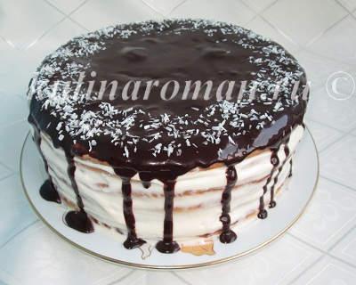 торт из коржей