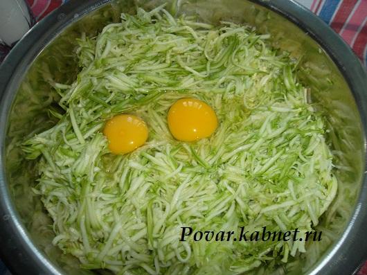 Летние деликатесы оладушки из кабачков