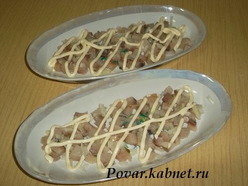 Салат селедка под шубой рецепт