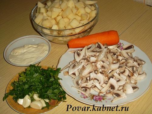 Грибной суп рецепт с фото