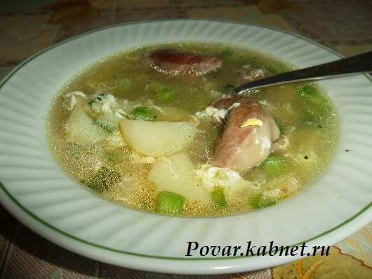 Рецепт супа с сердечками