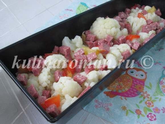 запеканка из цветной капусты