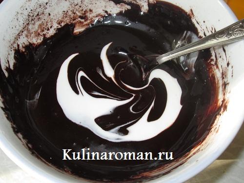 шоколадная глазурь для торта