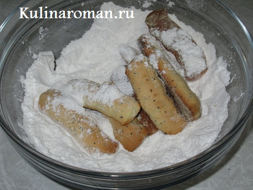 домашнее песочное печенье на жиру