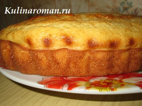 манный пирог рецепт