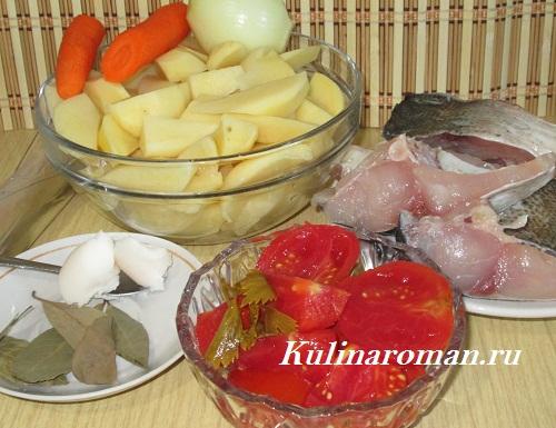 запеченный толстолобик с овощами рецепт