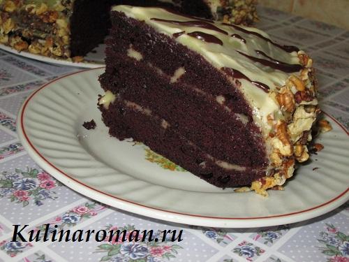 торт шоколад на кипятке