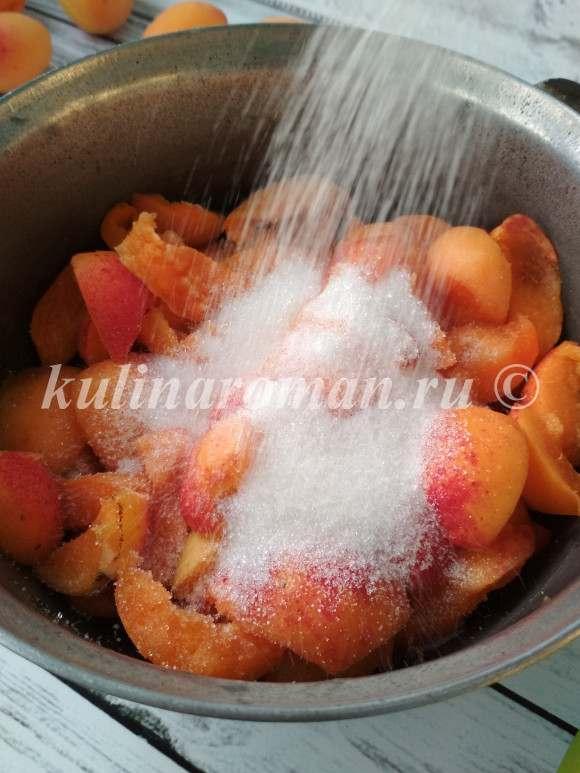 абрикосовое повидло рецепт с фото