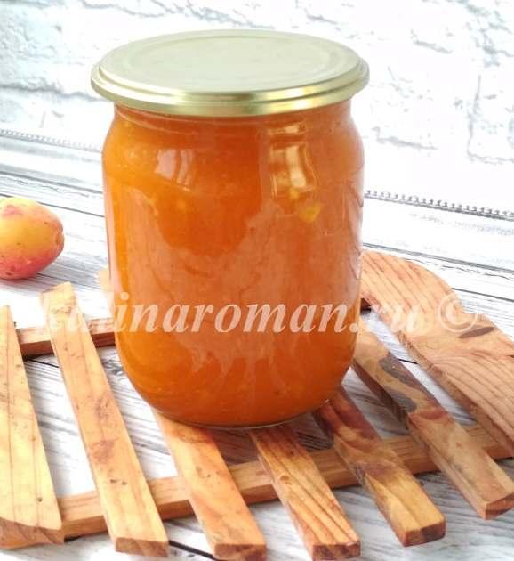 абрикосовое повидло на зиму