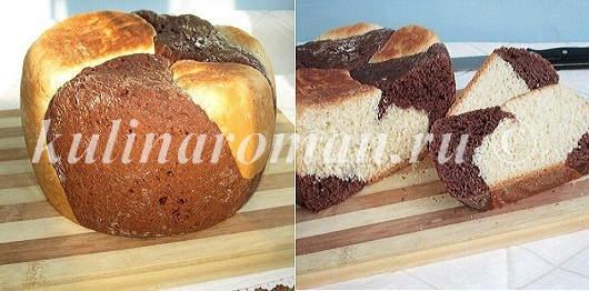 ванильно-шоколадный хлеб