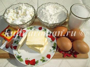 творожные кексы рецепт