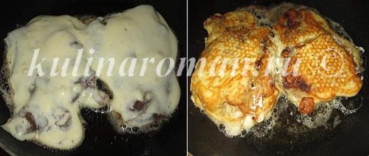как пожарит говяжью печень