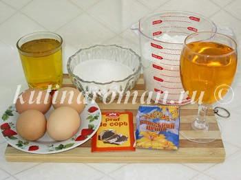 бисквит на лимонаде рецепт