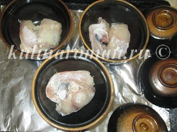 рыба в горшочках рецепт