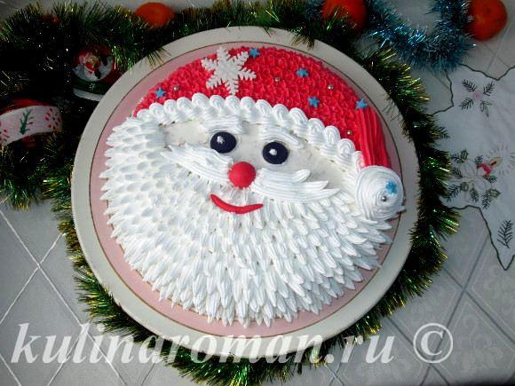 новогодний торт фото