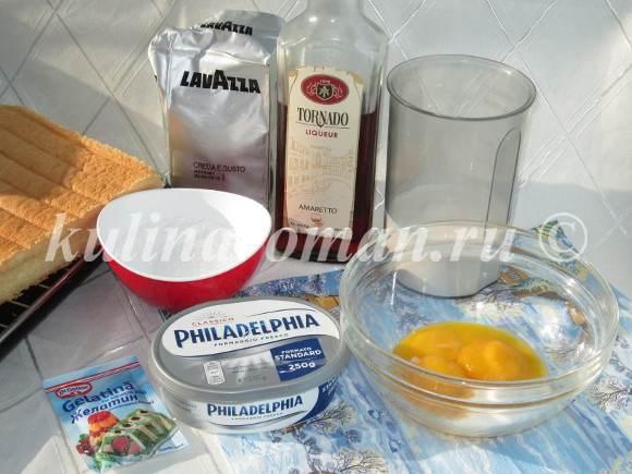 продукты для тирамису
