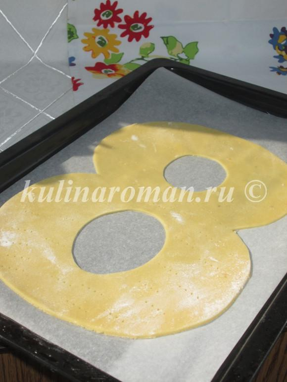 торт из медовых коржей