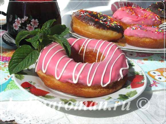 американские пончики