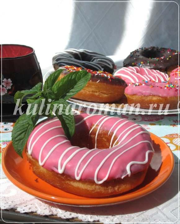 вкусные пончики рецепт