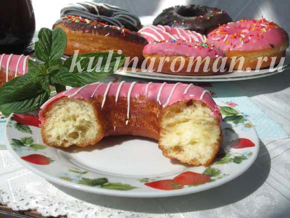 донатс пошаговый рецепт пончиков