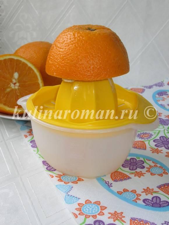 апельсиновая помадка