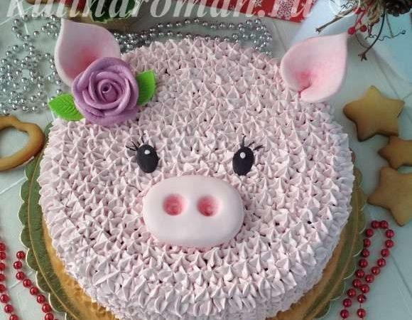 новогодний торт на 2019 год