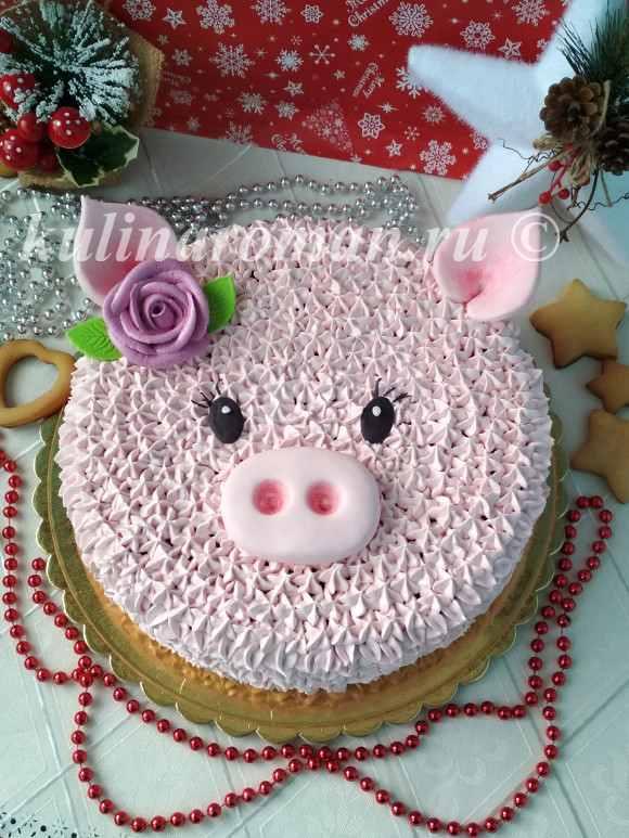 новогодний торт 2019