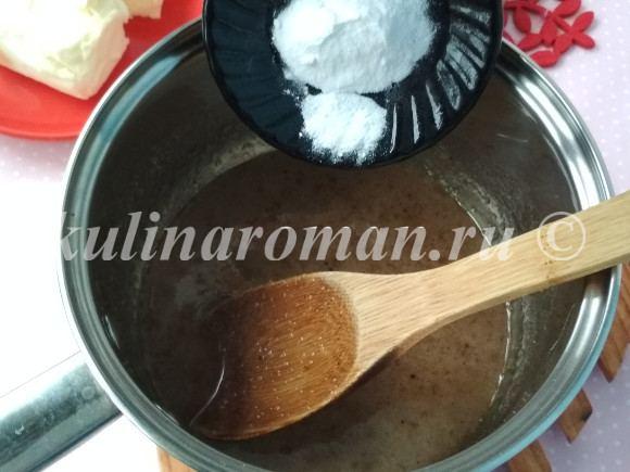 пряничное тесто рецепт