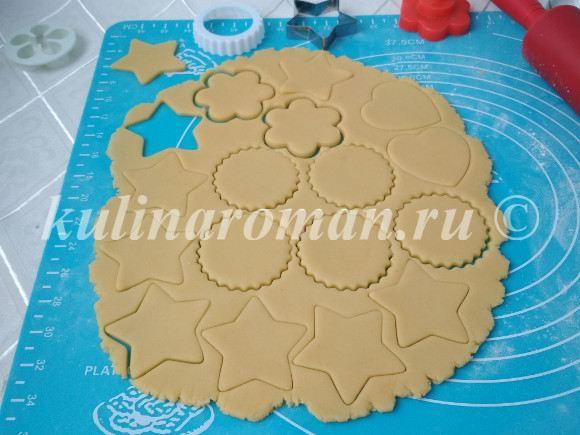 печенье рождественское пошаговый рецепт