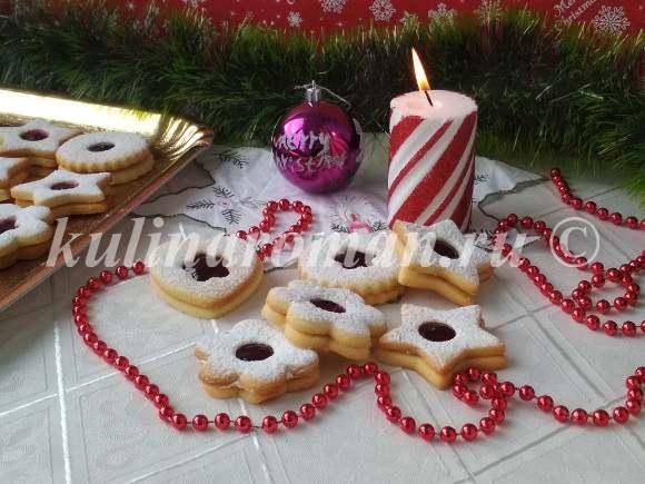 рождественское печенье пошаговый рецепт