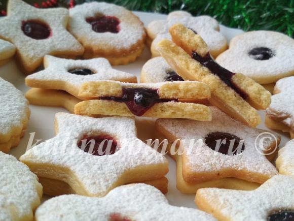 печенье вкусный рецепт на новый год