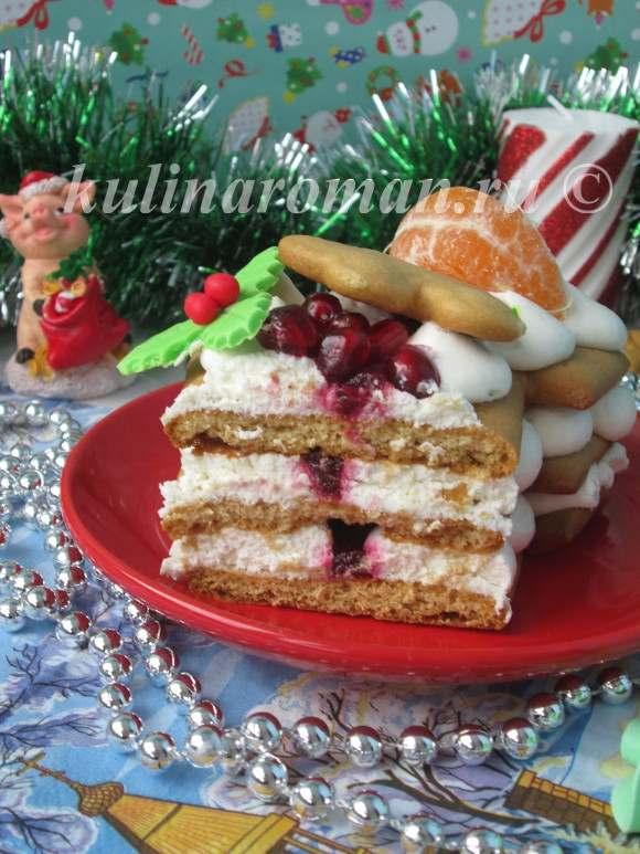 новогодний медовый торт