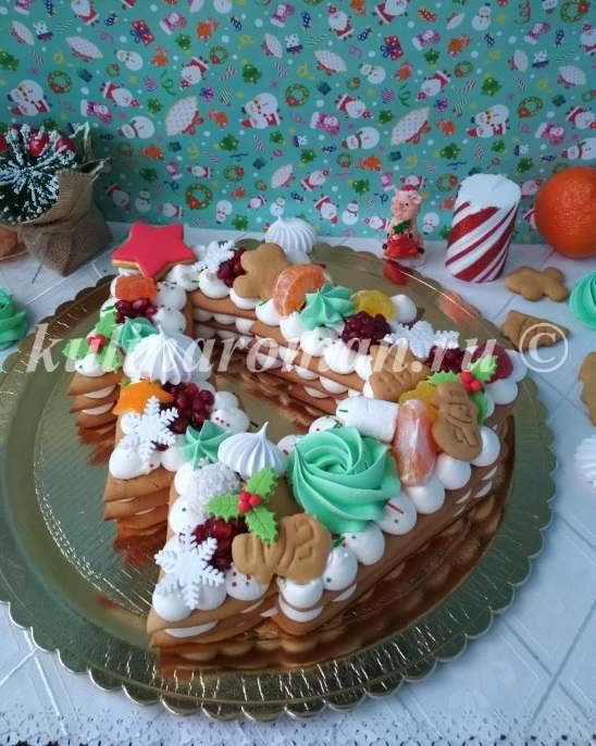 как приготовить торт елка