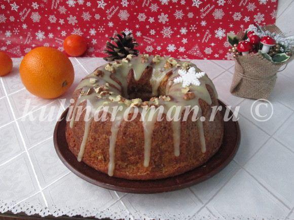 тыквенный кекс с помадкой