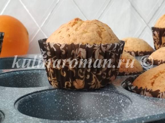 рецепт мандариновых кексов