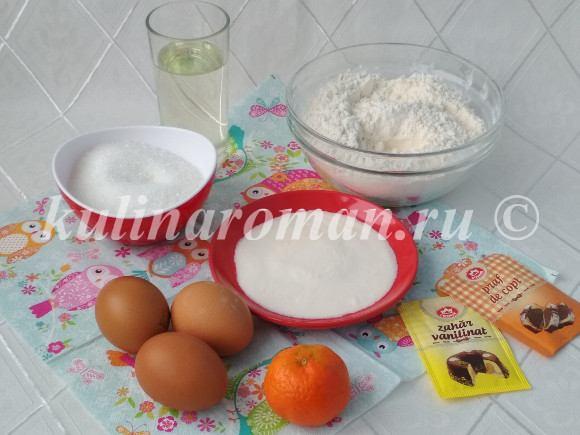простой рецепт кексов