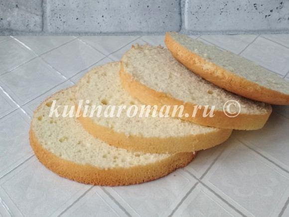 бисквит на молоке рецепт