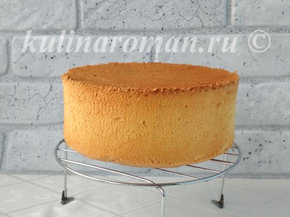 бисквит для торта рецепт