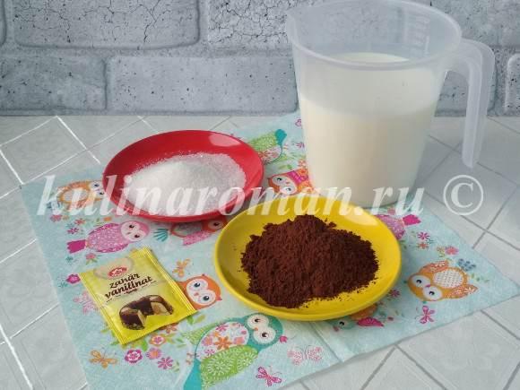 какао на молоке рецепт