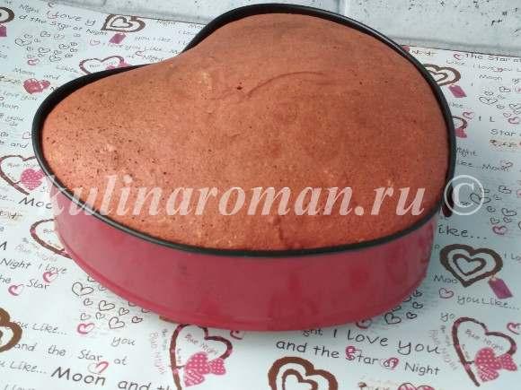бисквит красный бархат пошаговый рецепт