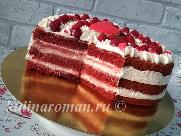 красный бархат торт с фото