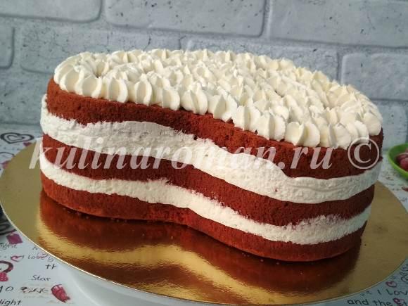 торт красный бархат как приготовить
