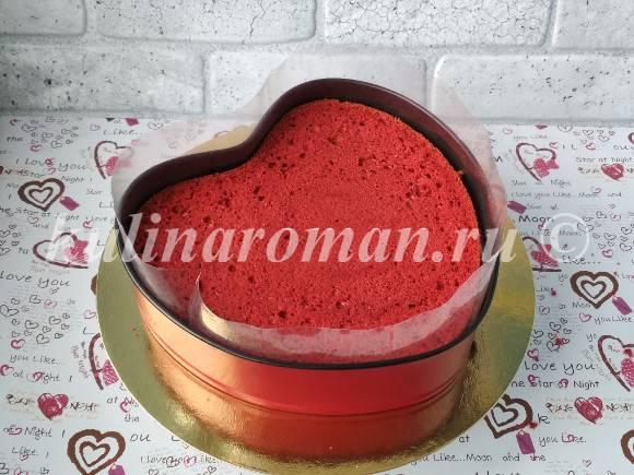 торт красный бархат рецепт