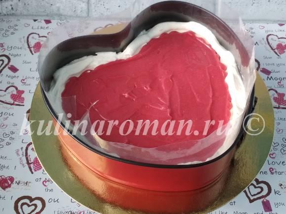 торт с вишневым курдом