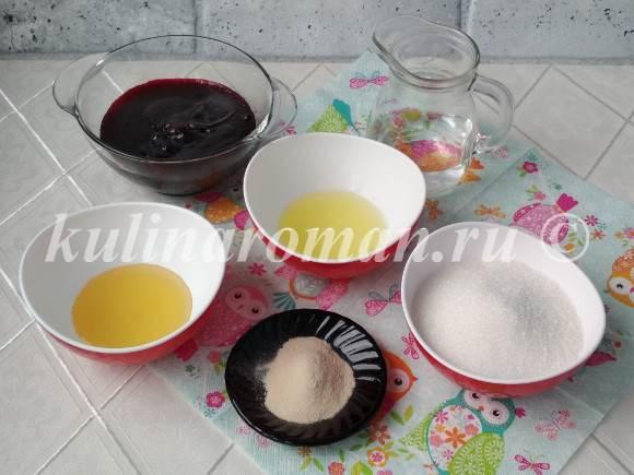 продукты для зефира