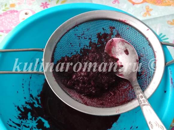 зефир из черной смородины рецепт