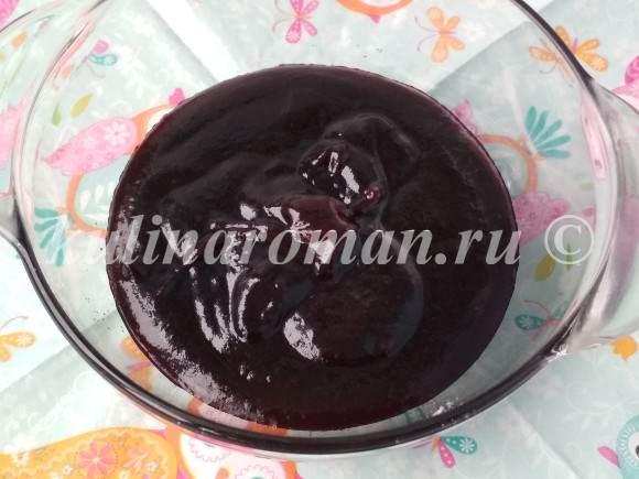 ягодное пюре для зефира
