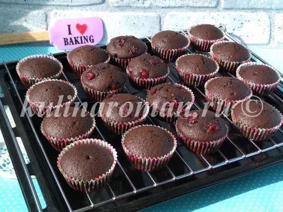 кексы шоколадные рецепт с фото