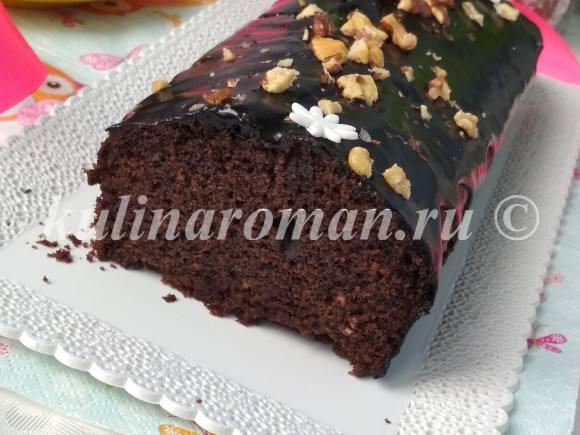 рецепт шоколадного манника