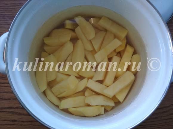 тушеная картошка рецепт